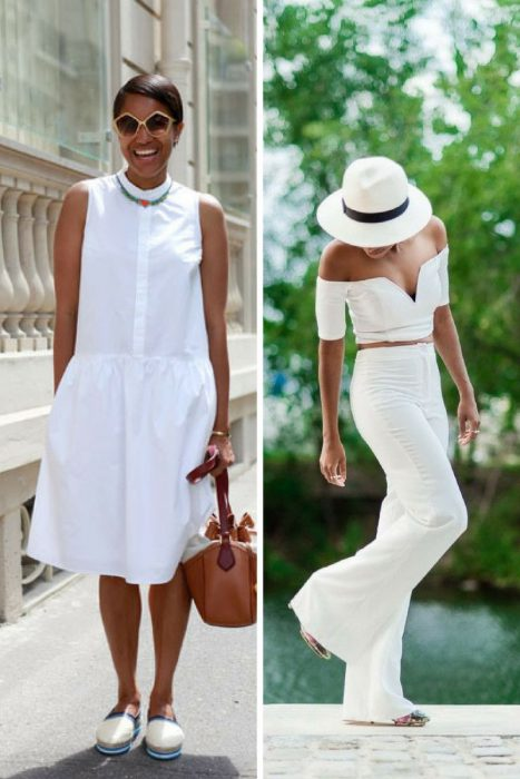 All-White Outfit Ideas For Summer