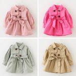 Image is loading Baby-Girls-Toddler-Kids-Windbreaker-Outerwear-Coat-Jacket-