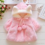 Baby Clothing Infant Kids Fur Winter Warm Coat Jackets Thick Girls Clothes  Baby Girl Cute Hooded Long Sleeve Coats Jacket Outwear Cheap Kids Coats  Winter