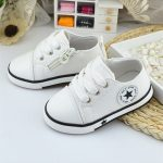 New Baby Shoes Breathable Canvas Shoes 1-3 Years Old Boys Shoes 4 Color  Comfortable