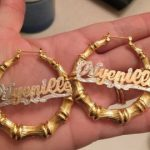 Custom Bamboo Earrings