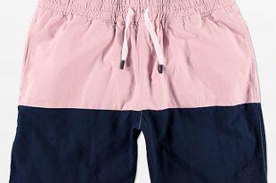 Quiet Life Pink Boardwalk Beach Shorts