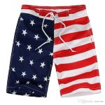 New Beach Shorts For Boys Surf Board Short Custom Swim Trunks Pentagram  Kids Sport Wear American Flag Board Shorts Kids Swim Baby Clothing Board  Shorts