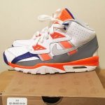 Nike Shoes - Bo Jackson Air Trainer SC Orange Grey Sneakers 6.5