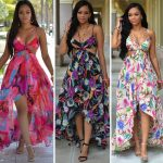 Printed Sling Dresses Bohemian Hang Neck Formal Summer Long Beach Casual  Dresses For Women Clothes Plus Size Women Clothing Fashion Dress White  Dress Skirt