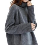 2019 2017 Double Thickening Loose Turtleneck Cashmere Sweater Female  Sweater Cashmere Pullover From Vanilla06, $65.23 | Traveller Location