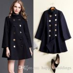 Autumn Winter Wool Coat Jacket Womens 2018 New Fashion Europe Slim Double  Breasted Coat Thick Woolen Jackets Cloak Wollen Coats Woman Coats Wool &  Blends