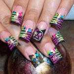 Colorful and Bright Nail Art