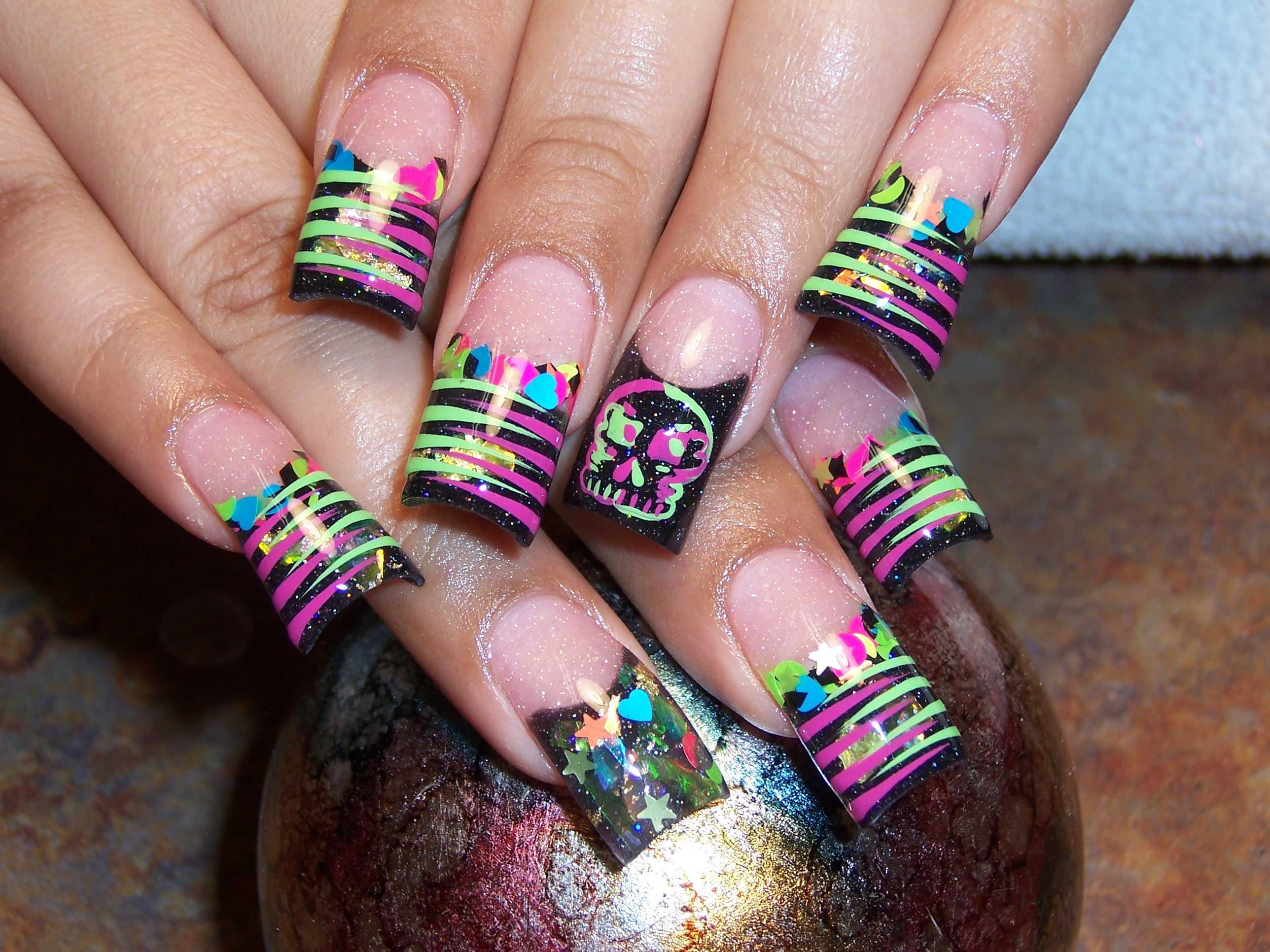 Colorful and Bright Nail Art