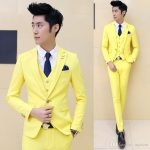 2019 Bright Colors Men Korean Style Fashion Cool Suits Set Handsome Wedding  Groomsman Blazers NEW From Mjzhou, $116.82 | Traveller Location
