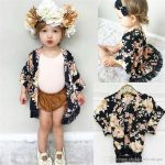 Fashion Baby Girls Clothes Flower Tassel Kimono Shawl Cardigan Tops Outfits  Baby Clothes Spring Summer Autumn Outwear Coat Girls Clothing Baby Crochet