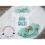 Baby Girl Clothes, But Dad Its On sale, baby girl outfit, new baby