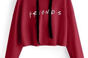 2019 Women FRIENDS Letters Short Hoodie Autumn Fashion Cute Sweatshirts  Clothes From Malewardrobe, $44.62 | Traveller Location