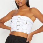 Denim crop