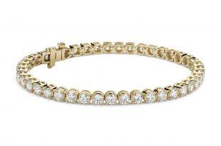Diamond Tennis Bracelet in 14k Yellow Gold (7 ct. tw.)