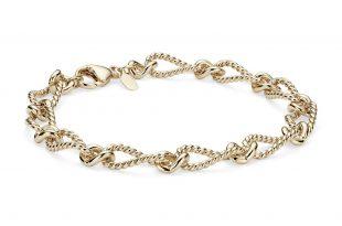 Elegant Bracelet in 14k Yellow Gold