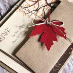 30 Fall Wedding Invitations Ideas