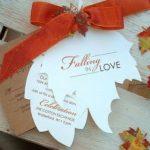 22 Gorgeous Fall Wedding Invitations Ideas | Style Motivation