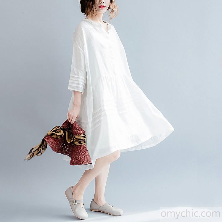 Fine linen dress