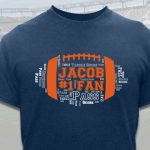 Up to 57% Off Football Custom T-Shirts