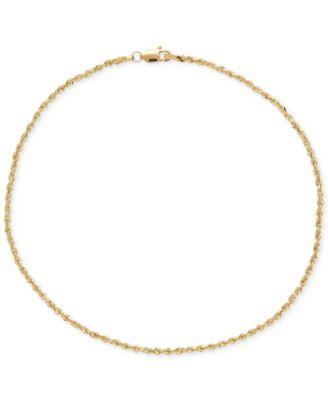 gold ankle bracelets