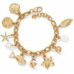Marine Gold Charm Bracelet alternate view 1
