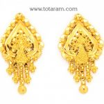 22K Gold Earrings for Women - 235-GER8377 - Buy this Latest Indian Gold  Jewelry
