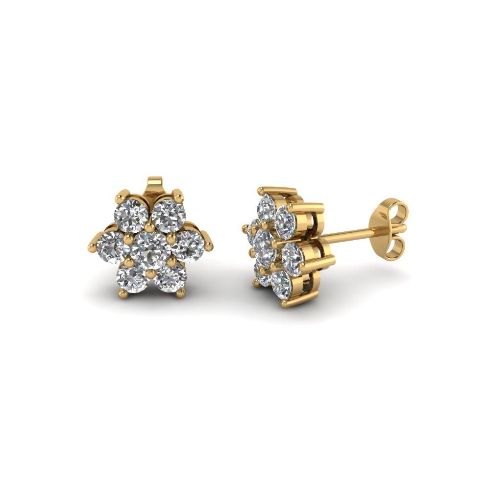 gold earrings for women