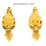 22K Gold Earrings for Women - 235-GER9071 - Buy this Latest Indian Gold  Jewelry