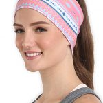 Workout Headband for Women & Men - Wide, Moisture Wicking & Non-Slip  Exercise
