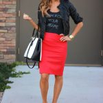 How To Wear Pencil Skirts - Combination Ideas (14)