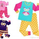 NEW Kids Pajamas Boys Girl Sleepwear Kids Owl Pajamas Top+Pants Children  Pajamas For 1~7 Years Baby Kids /L Fleece Pjs For Girls Baby Christmas Pjs  From