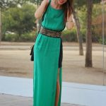 Pretty Green Maxi Dress Outfit