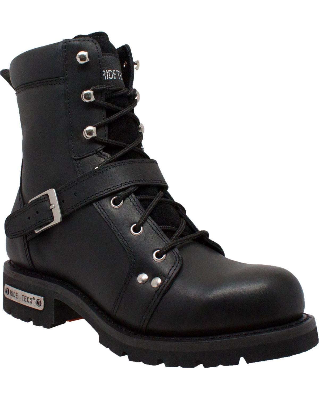 mens biker boots