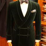 Smoking jacket thats perfect for a night on the town