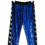 Diadora Sequinned logo track pants .