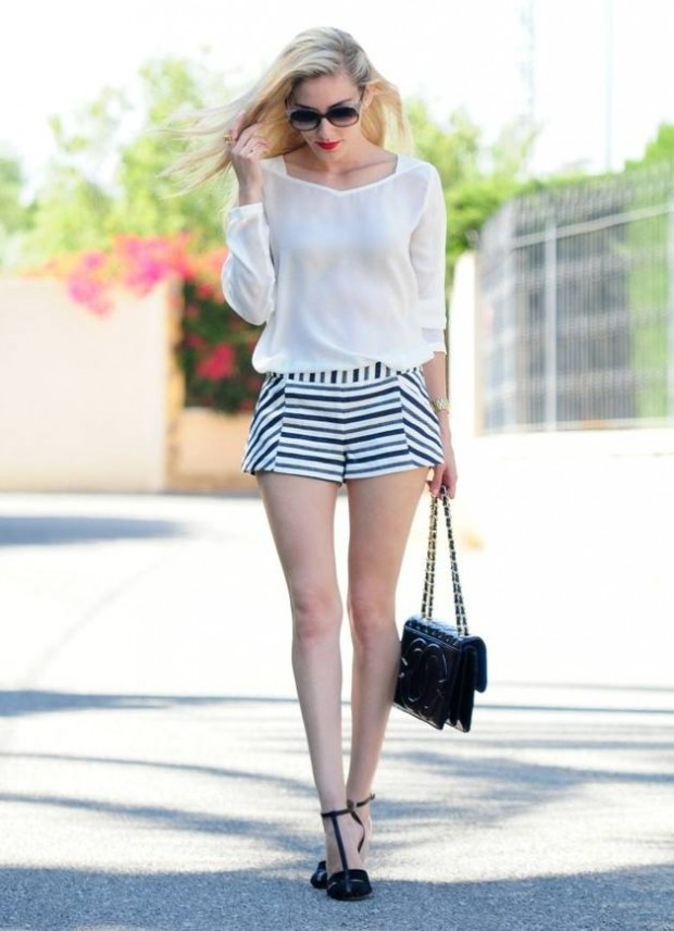 Stripes Summer Outfit Ideas