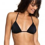0 ROXY Essentials Triangle Bikini Top Black ERJX303513 Roxy