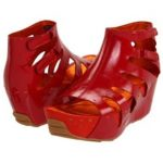 Tsubo red Sandals