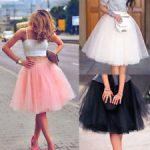 Women Adult Layers Tulle Skirt Long Dress Princess Girls Ballet Tutu Dance  Skirt