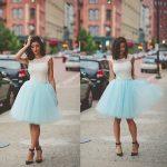 Image is loading Women-Girls-7-layer-50cm-Midi-Tulle-Skirt-