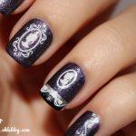 Vintage Maiden Nail Art