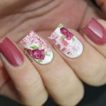 Nail Art!: Vintage Roses. Nail Designs