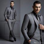 High Quality Wedding Suits For Men Groom Tuxedos Groomsmen Best Man Mens Wedding  Suits Bridegroom Jacket+Pants+Vest+Tie Jackets Colored Tuxedos Grooms