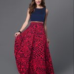 Bollywood New Party Wear Stylish Designer Printed Western Gown/Dresses With  Belt #FlowersFashion #