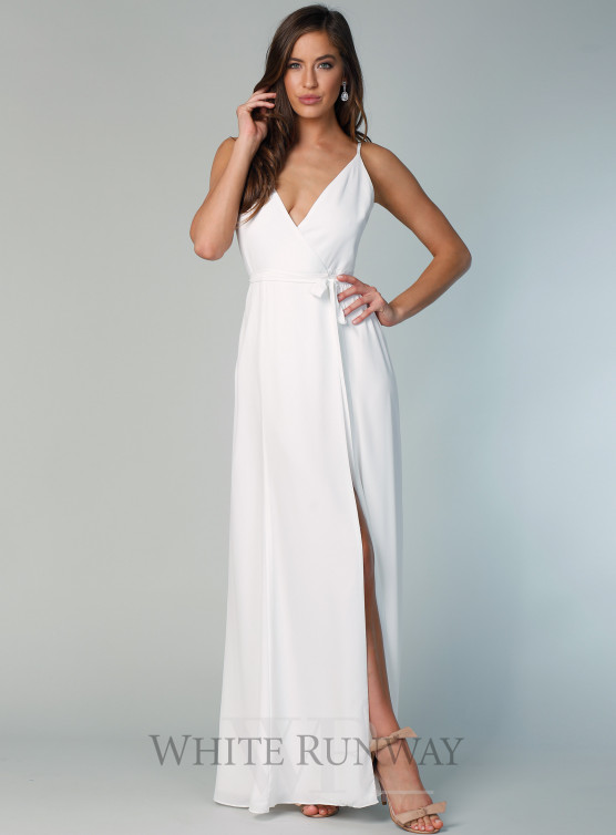 White formal dresses