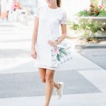 Sydne Style wears Fabletics white tshirt dress for sporty summer outfit  ideas