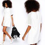 Wimbledon fashion inspiration white casual dress