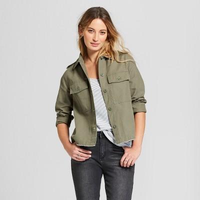 womens military jacket