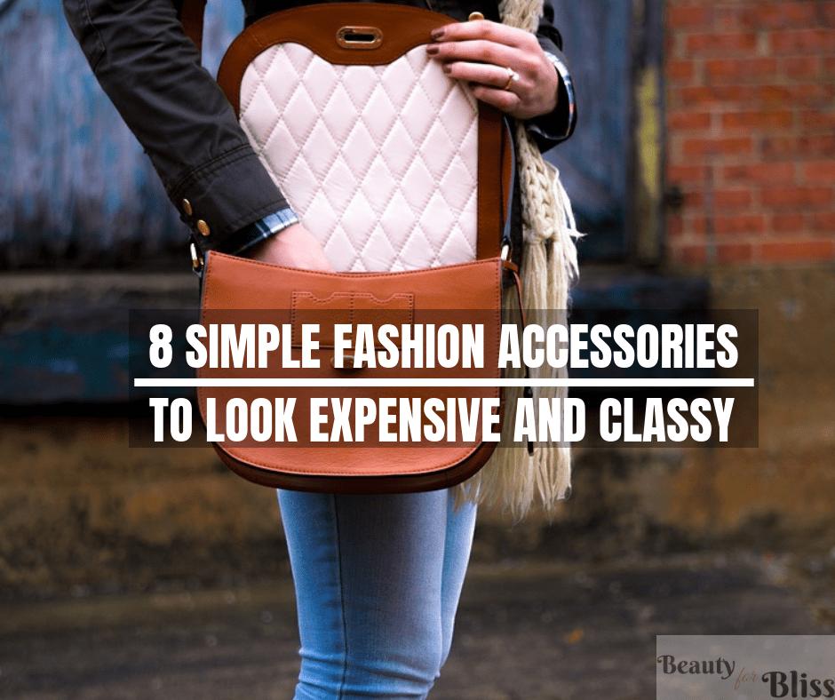 Accessories Make Look Rich